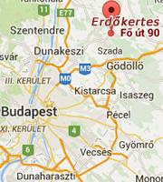 Goldschmied Kft. térkép